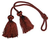 "Chair ties 27"" Braided Cord with 3"" Tassels"