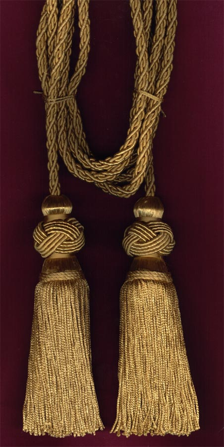 Cord with Two Turk knot Tassels
