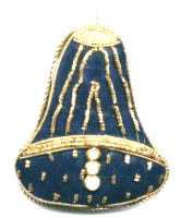 Christmas Blue Bell Ornament
