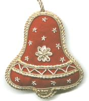 Christmas Red Bell Ornament