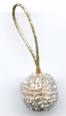 Silver Ball Ornaments