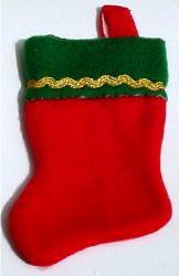 "6"" Christmas Stocking"