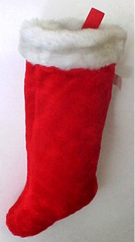 Velvet Christmas Stockings