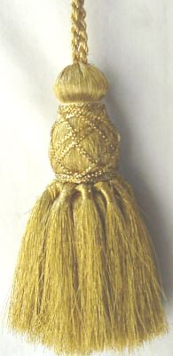 Gold French Tassel