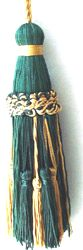 French Braided Tassel