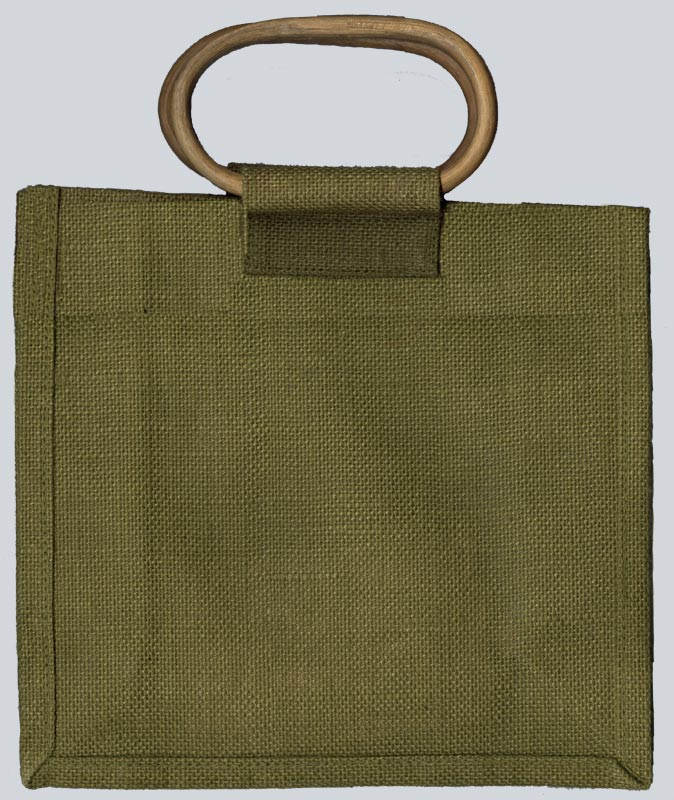 Olive Green with Cane Handle