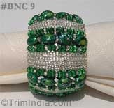 green-silver-napkin-rings