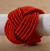 Red Braid Napkin Ring @ $1.25