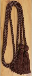 Brown single honor cord