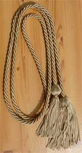 Drab single honor cord