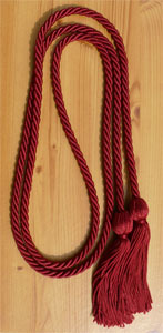 Hot Pink single honor cord