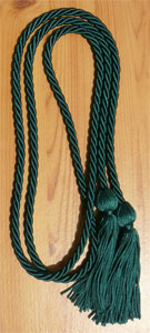 Hunter Green single honor cord