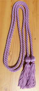 Lilac single honor cord