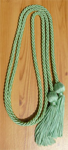 Nile Green single honor cord