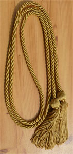Special Gold single honor cord