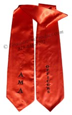 AMA-Officers-Graduation-Stole