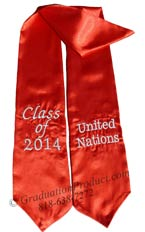 United_Nations_class_of_2014-Graduation-Stole