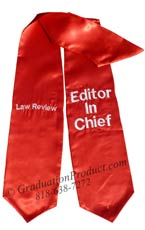 law-review-editor-in-chief-red-graduation-stole