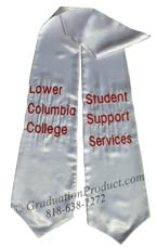 lower-columbia-college-student-support-services-white-graduation-stole