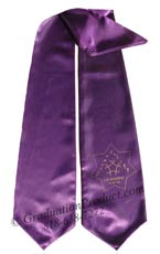 licensed-cosmetology-purple-graduation-stole