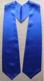 Royal Blue Graduation Stole