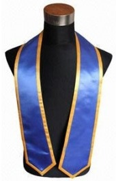 Black stoles with logo