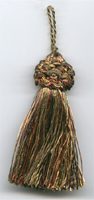 Metallic Gold Mini Tassel