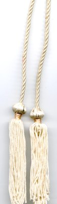 Thin Cord with  Tassels