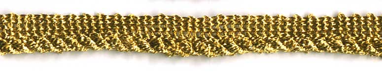 Metallic Gold Cord with lip