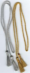 Metallic Gold & Silver Gift / Wine Bag Cords