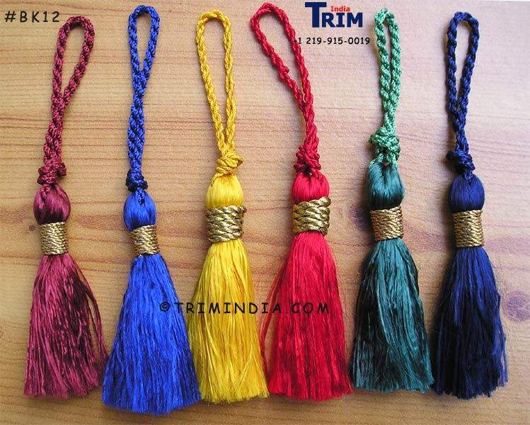 Attractive Bookmark Tassels