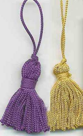 Mini Tassels for Bookmark
