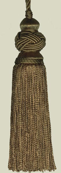 Brown Turk Knot Tassels