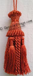 French knotted tassel