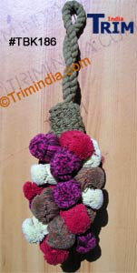 Cotton Key Grape Shape Tassel